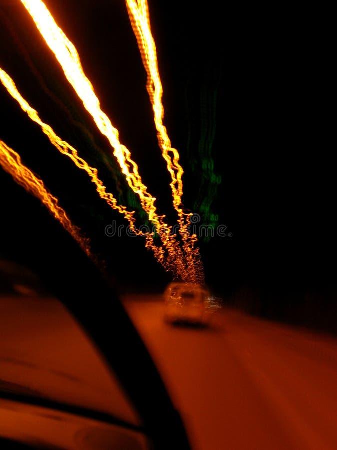 Lumières de tunnel images stock