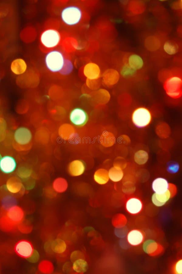 Lumières de vacances image stock