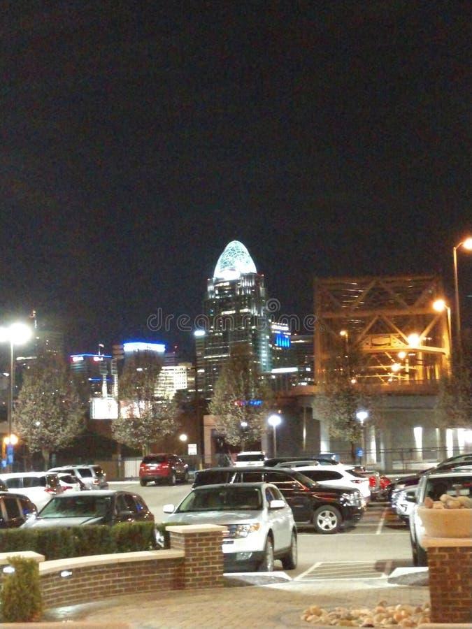 Lumières de ville photos stock