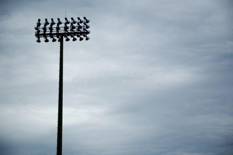 Download Lumières de zone photo stock. Image du lumineux, nuageux - 726448