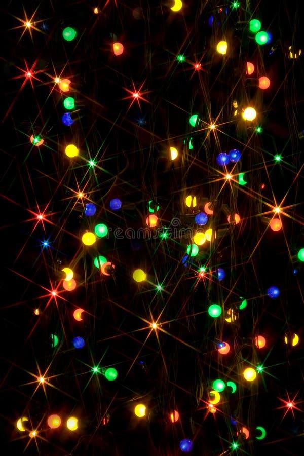 lumières defocused photographie stock