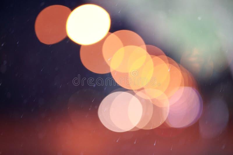 Download Lumières Defocused De Bokeh Photo stock - Image du nightlife, épanouissement: 45356152
