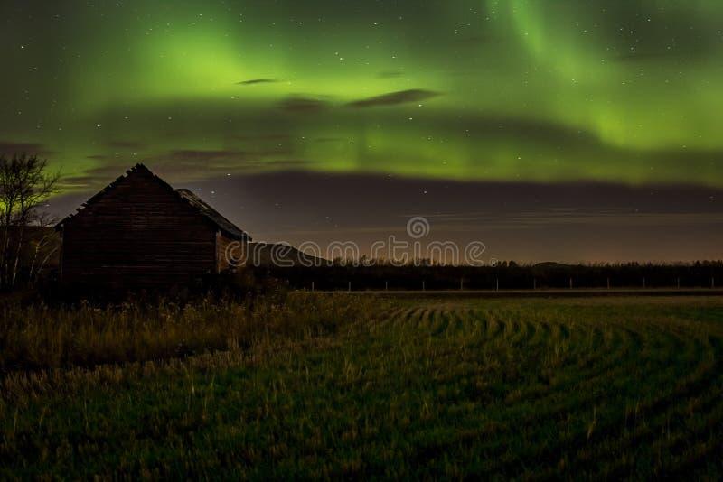 Lumières du nord Aurora Borealis photo libre de droits