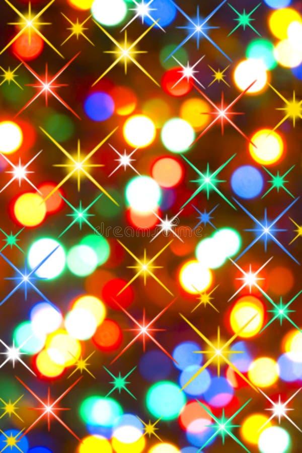 Lumières magiques photos libres de droits