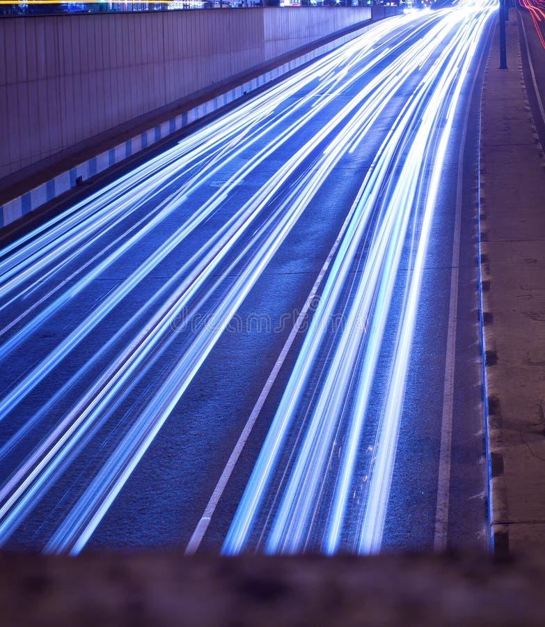 Lumières mobiles images libres de droits