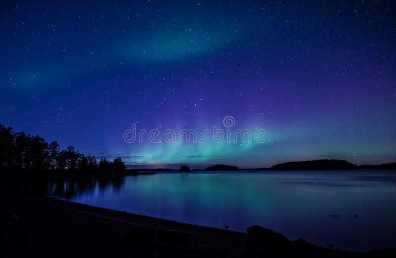 Lumières nordiques photo libre de droits