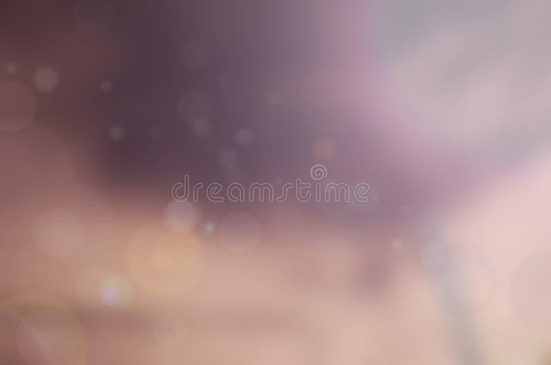 Lumières pourpres brouillées photographie stock libre de droits