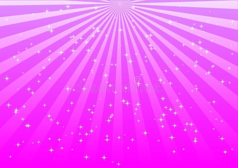 Lumières roses illustration de vecteur