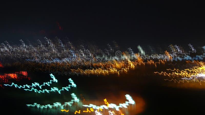 Lumières urbaines images libres de droits