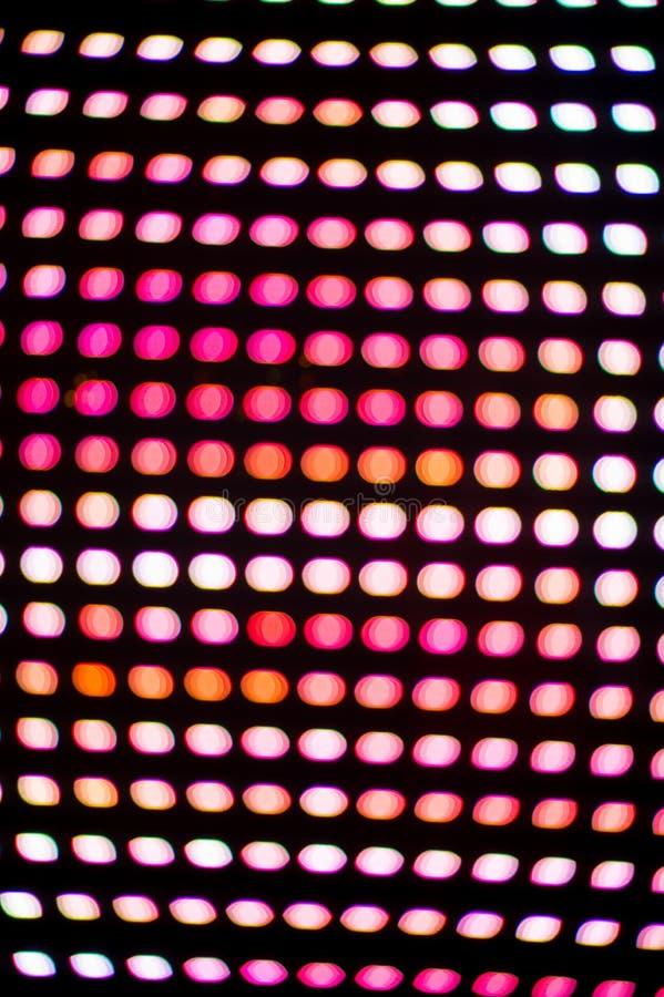 Lumi?res de disco Fond color? abstrait Fond de disco Scintillement et élégant pour Noël Concept magique disco illustration libre de droits