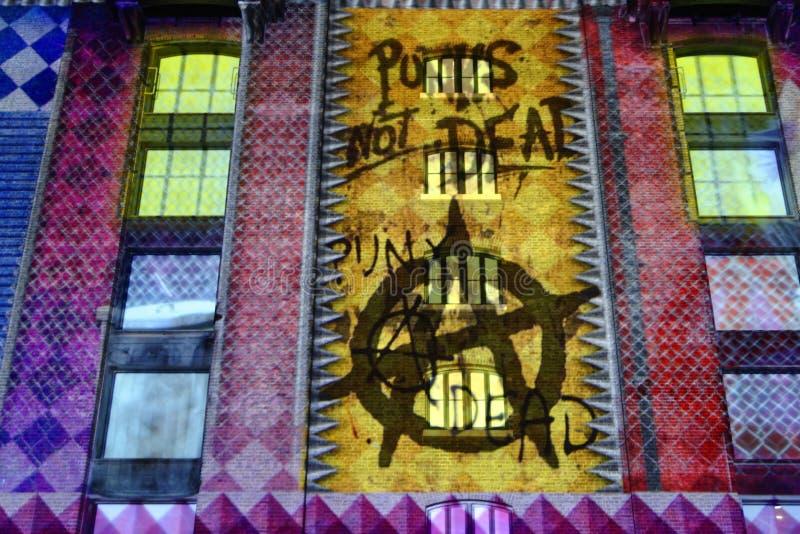 Lumiere Лондон стоковое изображение