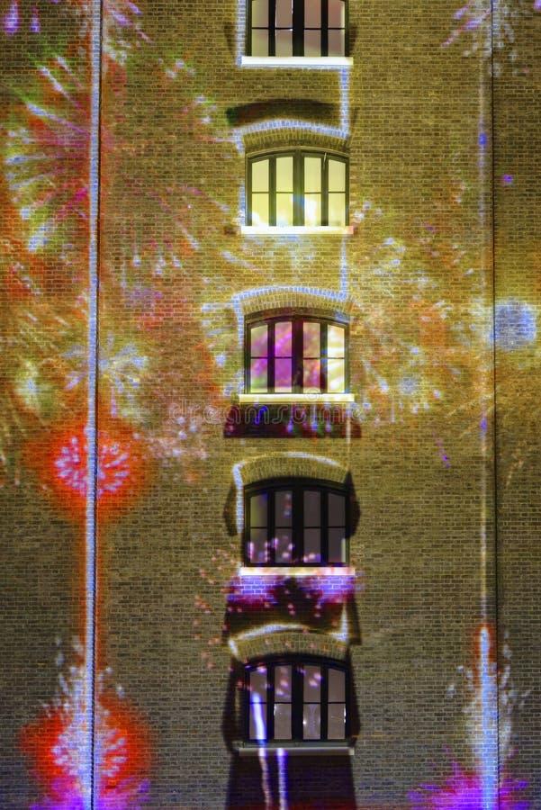 Lumiere Londres images libres de droits