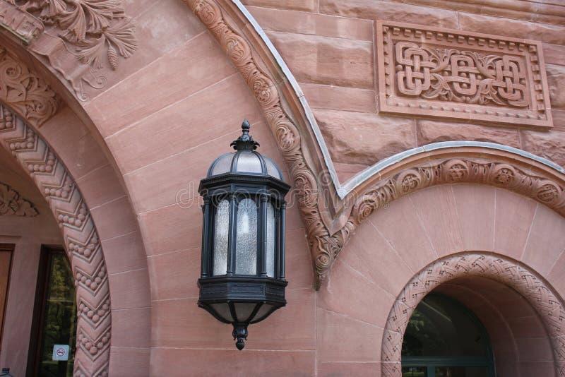 Luminária de parede royalty free stock photo