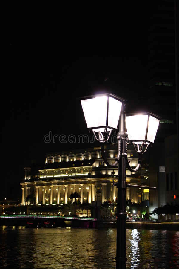 Download Luminescence Night stock image. Image of esplanade, light - 21577517