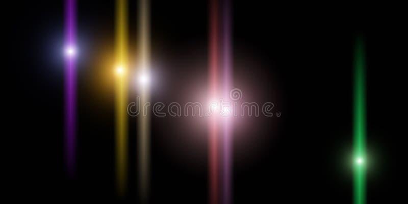 Luminiscencia m?gica del espacio foto de archivo libre de regalías