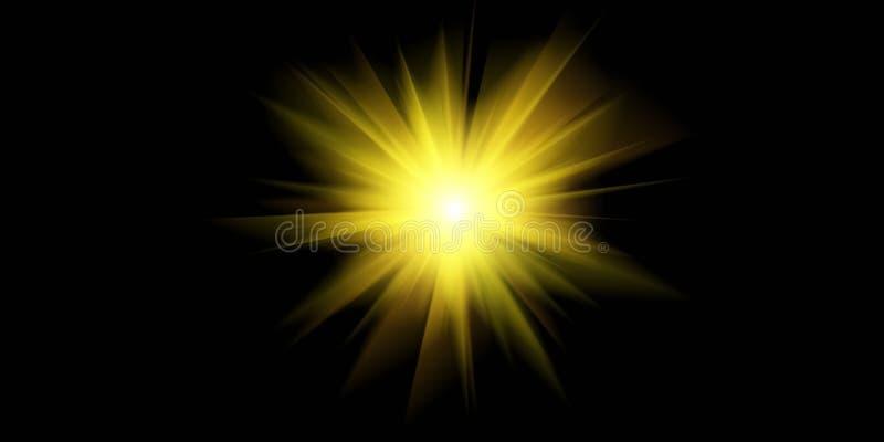 Luminiscencia m?gica del espacio imágenes de archivo libres de regalías