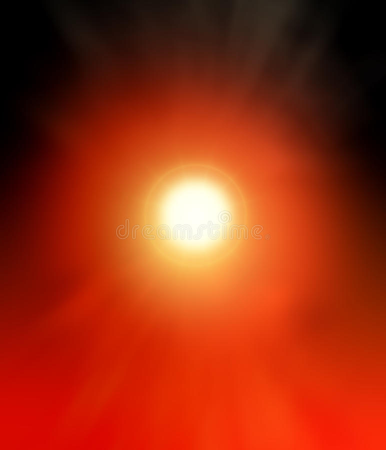 Luminiscencia roja negra y brillante del fondo abstracto fotografía de archivo