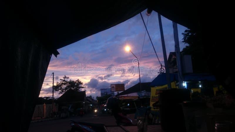 A luminosidade reduzida expõe ao sol Ásia imagens de stock