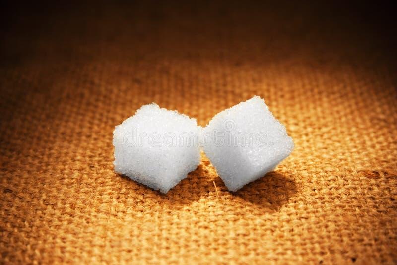 Lump sugar royalty free stock photo