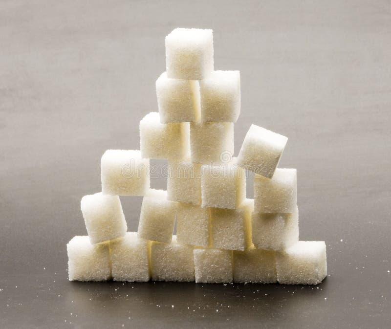 Lump sugar royalty free stock image