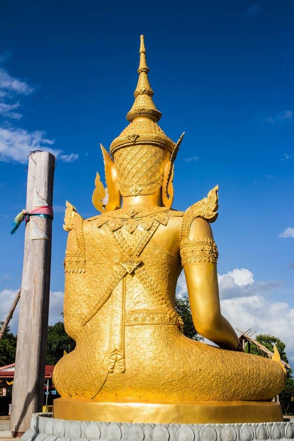 Lumphun Tailandia del pharbahthaytum del wat de Buda imagenes de archivo