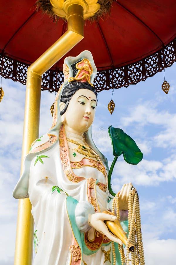 Lumphun Tailandia del pharbahthaytum del wat del yin de Guan fotos de archivo libres de regalías