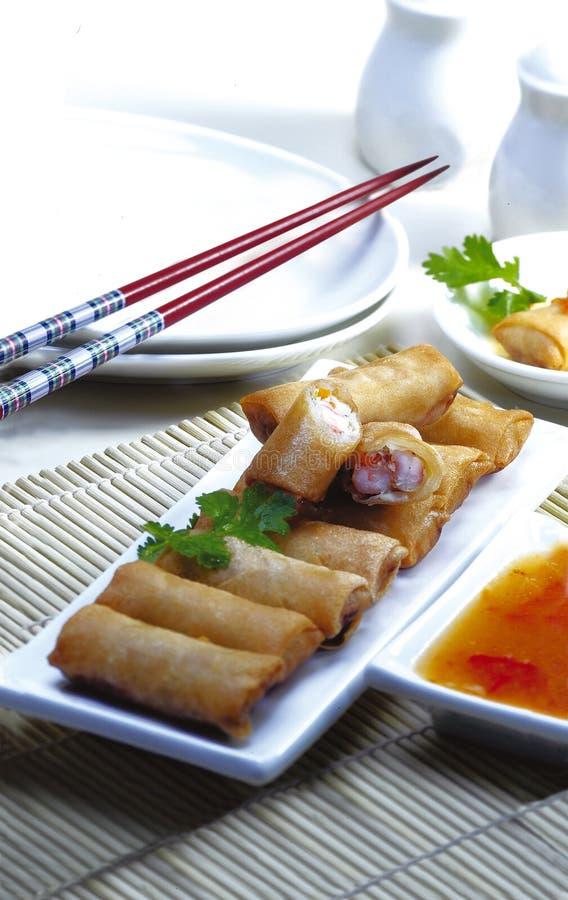 Lumpia - Indonesisch Voedsel stock afbeelding
