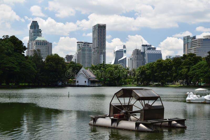Lumpini park zdjęcie royalty free