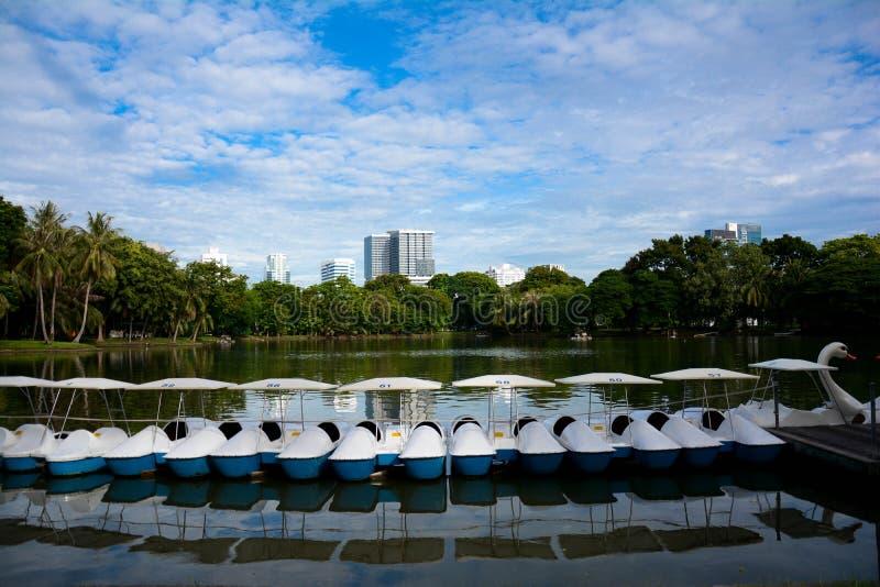 Lumpinipark royalty-vrije stock foto