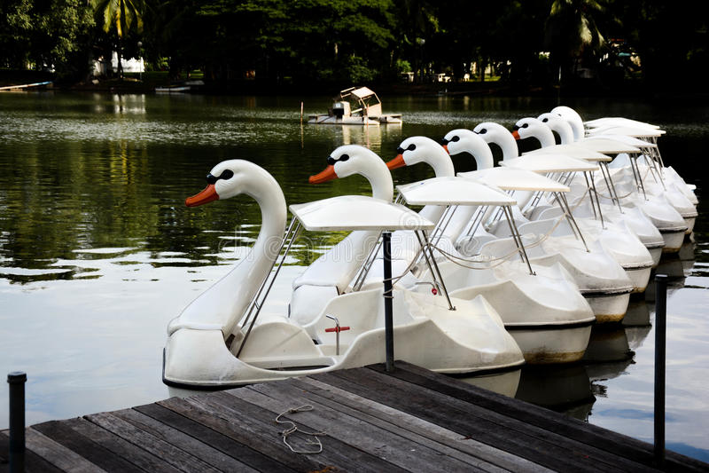 Lumpinipark stock afbeelding