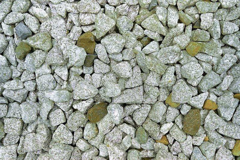lumps of rocks alongside the railway royalty free stock images