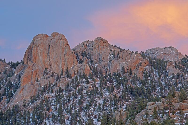 Lumpy Ridge Rocky Mountain Nationalpark lizenzfreie stockbilder