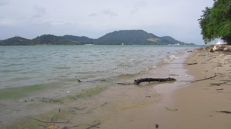 Lumut Town in the state of Perak, Malaysia. Circa December 2016. Lumut is a coastal town in Manjung District, Perak, Malaysia, and it is the gateway to Pangkor stock footage