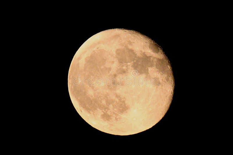 Luna fotografie stock