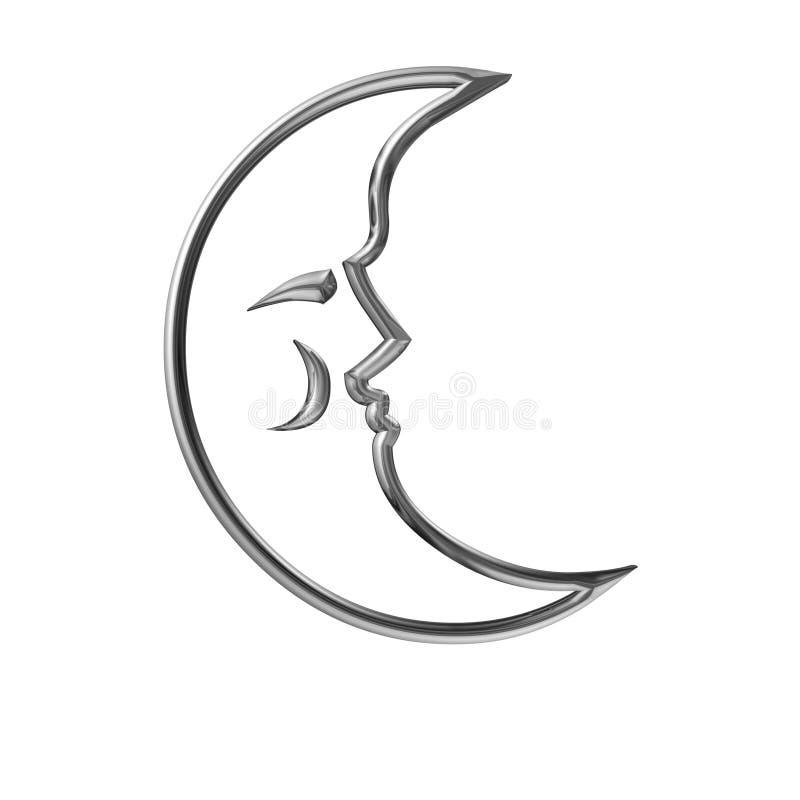 Luna illustrazione di stock