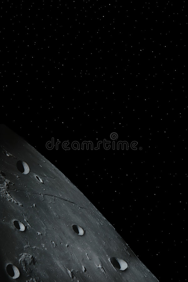 Luna 4 fotos de archivo libres de regalías