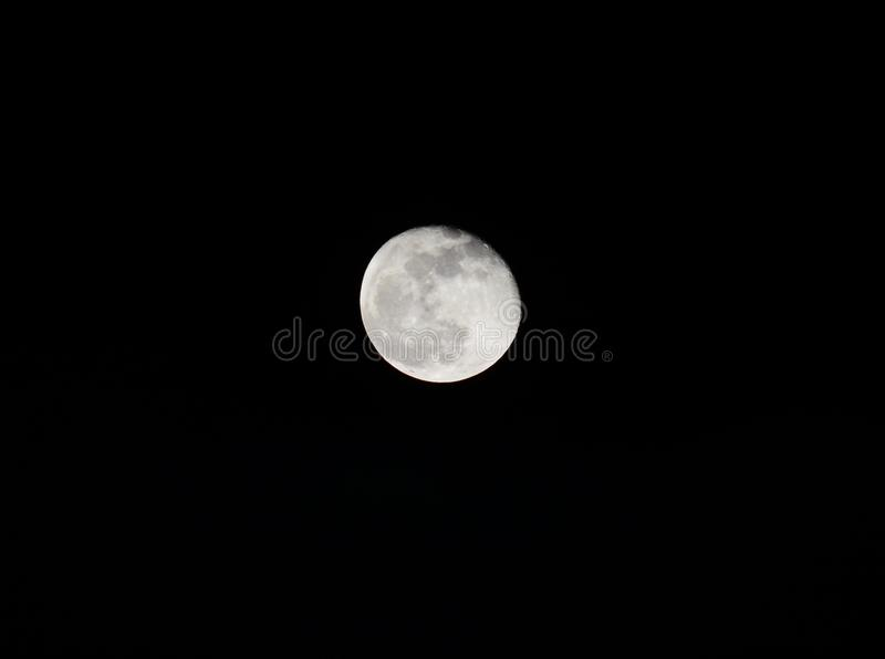 Luna fotografia stock libera da diritti