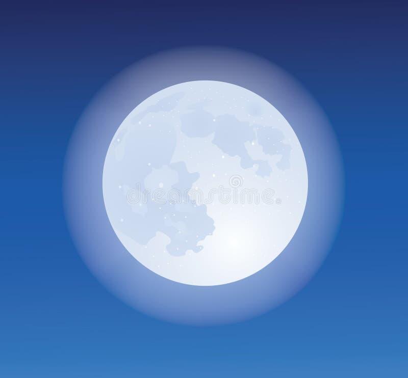 Luna. ilustración del vector