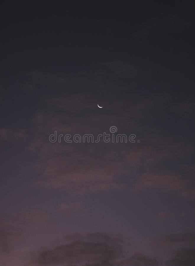 Luna fotografía de archivo