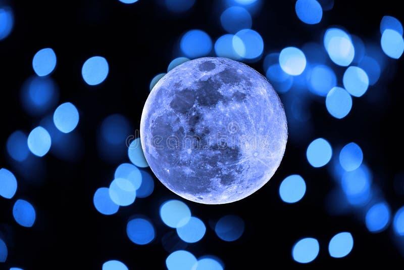 Luna azul fotografía de archivo libre de regalías