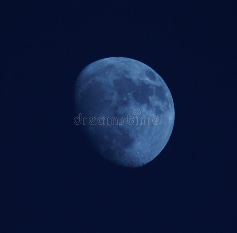 Download Luna blu immagine stock. Immagine di universo, notte, cielo - 209263