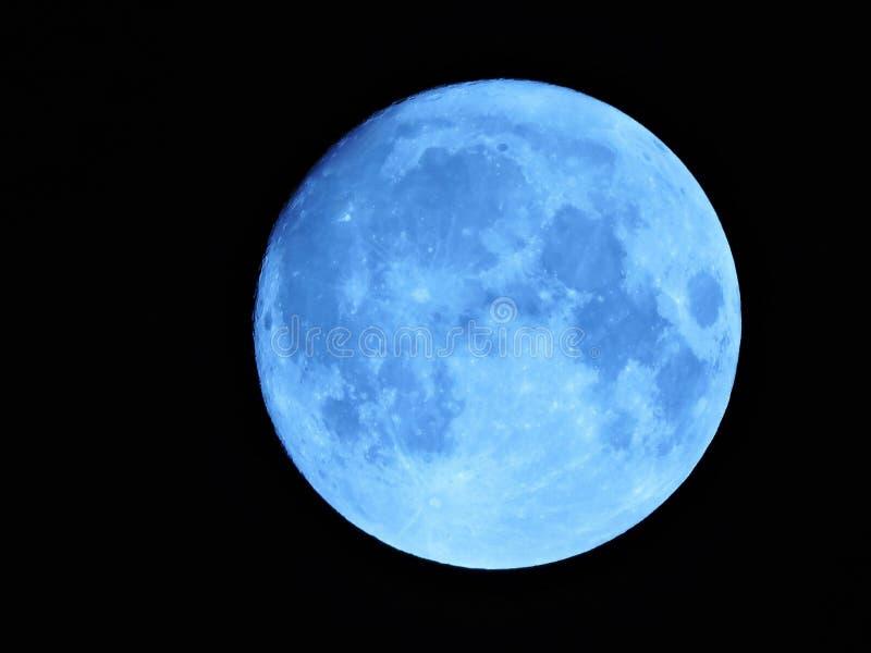 Luna blu fotografia stock libera da diritti
