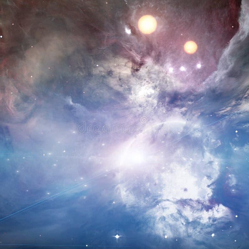 Luna brillante stock de ilustración