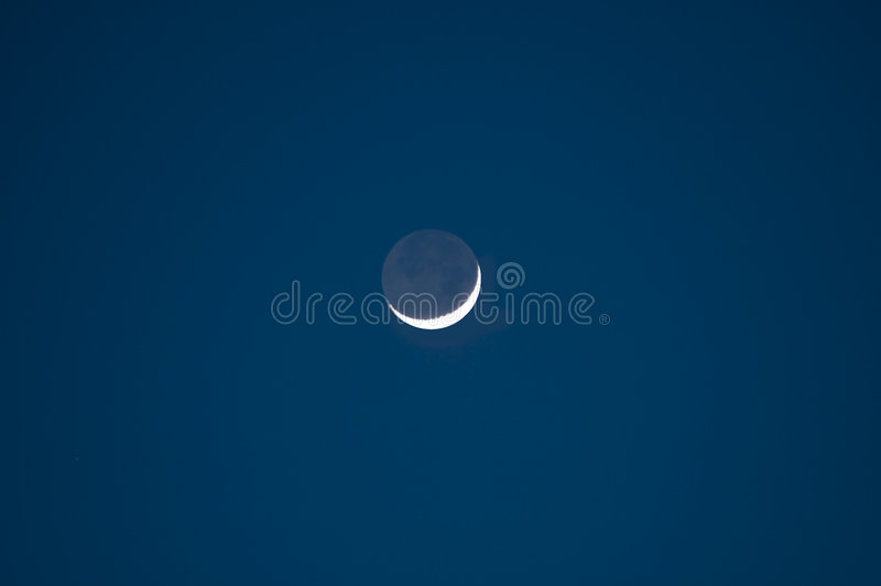 Luna calante immagine stock libera da diritti