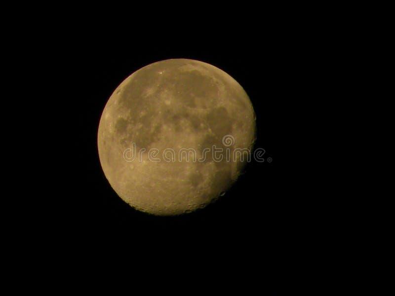 Luna calante immagini stock libere da diritti