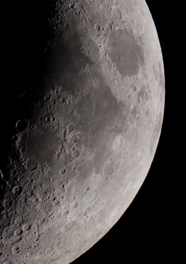 Luna crescent foto de archivo libre de regalías