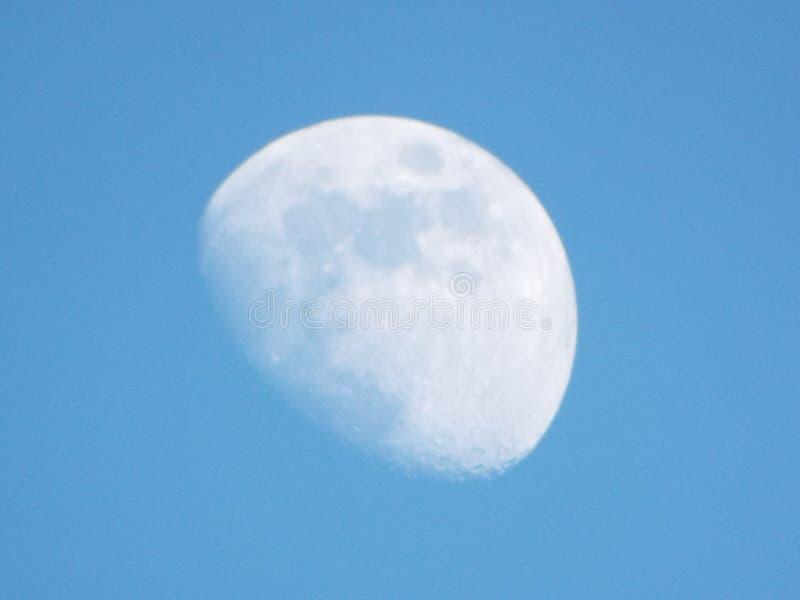 Luna de descoloramiento imagen de archivo libre de regalías