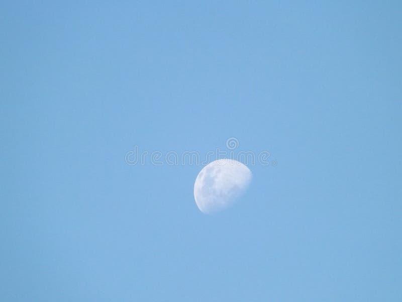 Luna de disminución foto de archivo