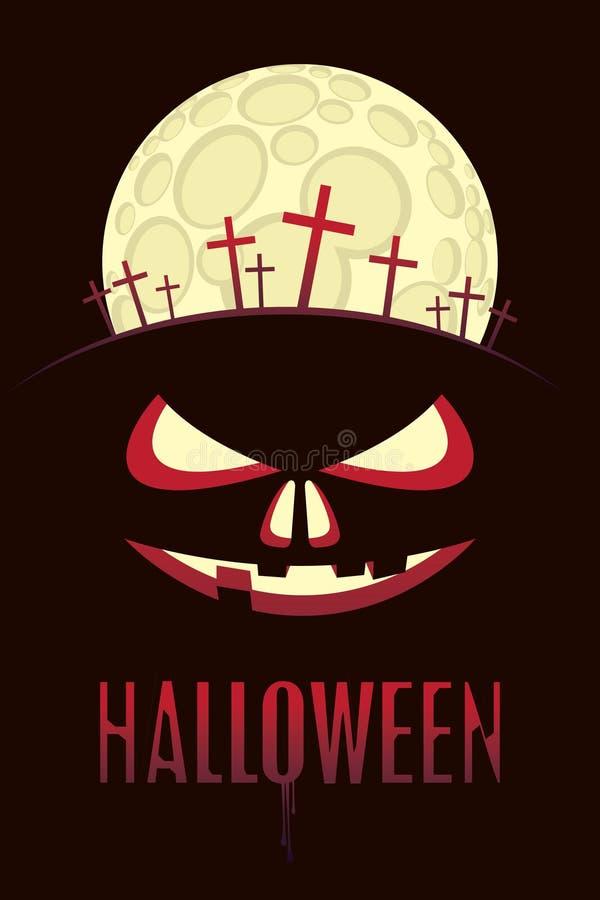 Luna de Halloween libre illustration