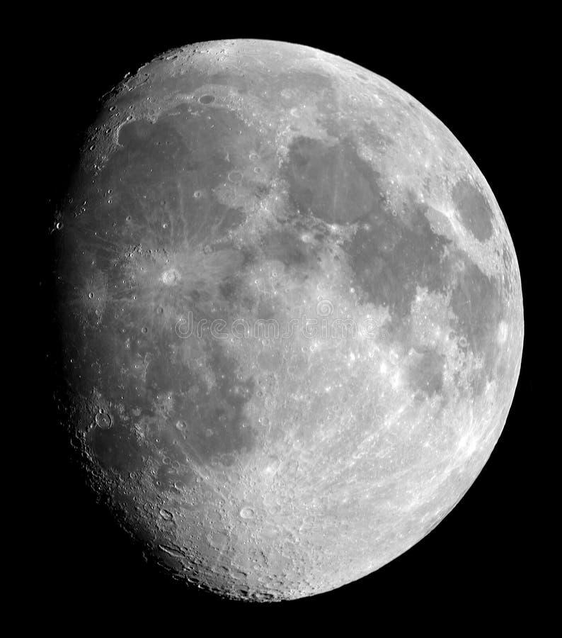 luna de un día 11 foto de archivo libre de regalías